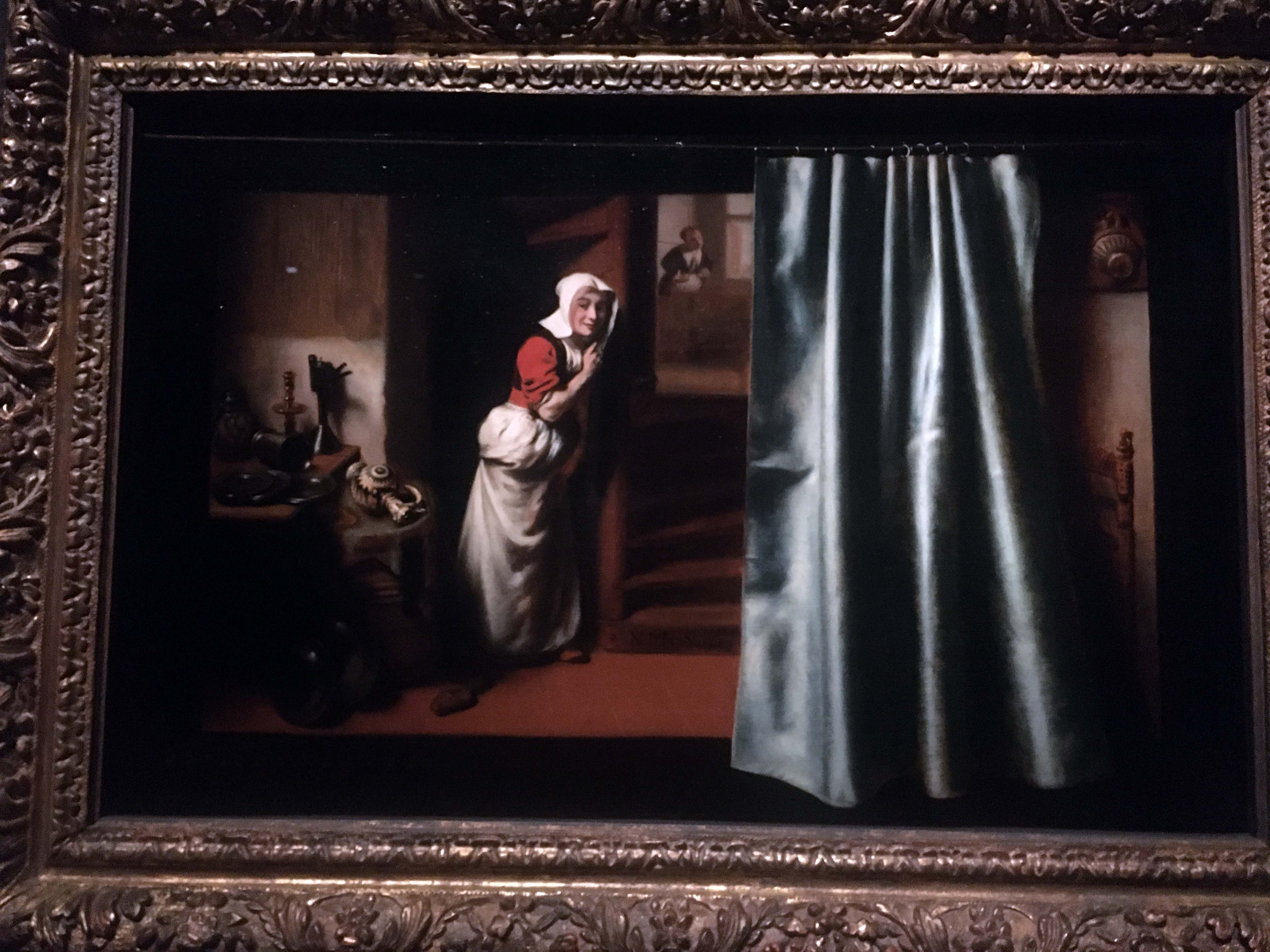 Nicolaes Maes Eavesdropper