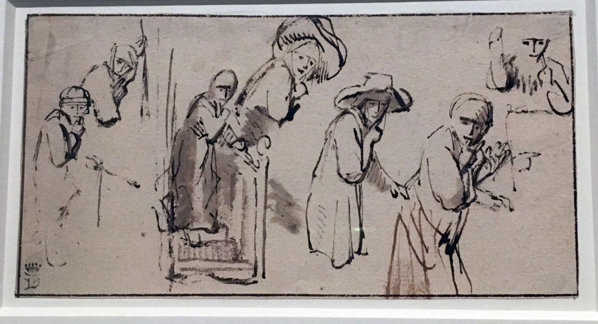 Nicolaes Maes Eavesdropping