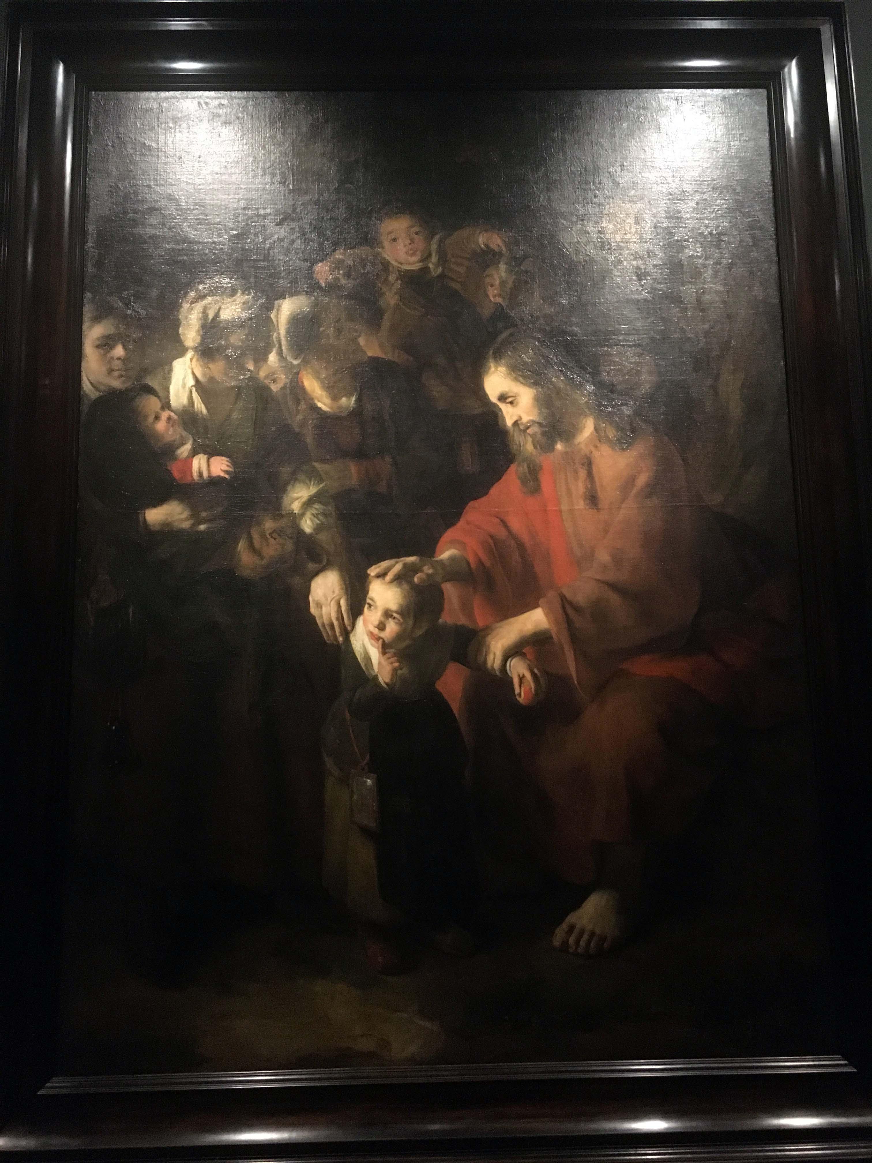 Nicolaes Maes Jesus Blessing