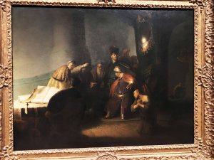 Rembrandt Judas Repentant