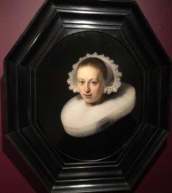 Rembrandt Portrait of a Young Woman