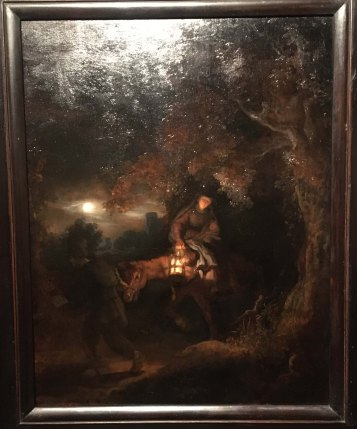 Rembrandt The Flight into Egypt